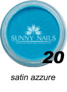 20 Akryl w proszku Sunny Nails satin azzure 3 ml