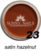 23 Akryl w proszku Sunny Nails satin hazelnut 3 ml