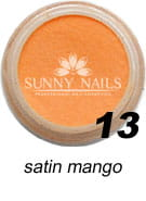 13 Akryl w proszku Sunny Nails satin mango 3 ml