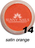 14 Akryl w proszku Sunny Nails satin orange 3 ml